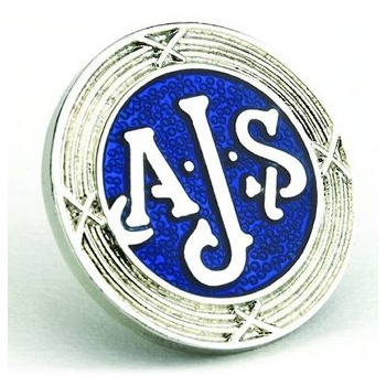 AJS & Matchless AJS Enamel Pin Badge for Classic Motorcycle Made in UK