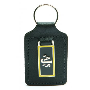 AJS / Matchless AJS Leather Key Fob With AJS Logo For Classic Motorcycle