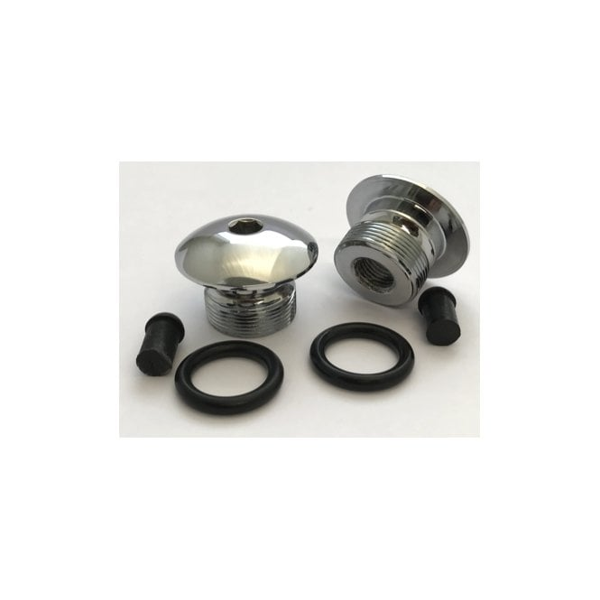 AJS & Matchless AJS, Matchless Fork Top Nut kit Includes Seals & Rubbers OEM No 02-7047, 02-2216