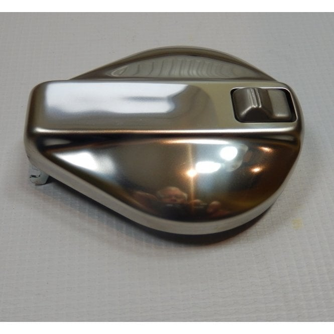AJS & Matchless Harris Matchless Fuel Tank Cap Finished in Polished Stainless Steel