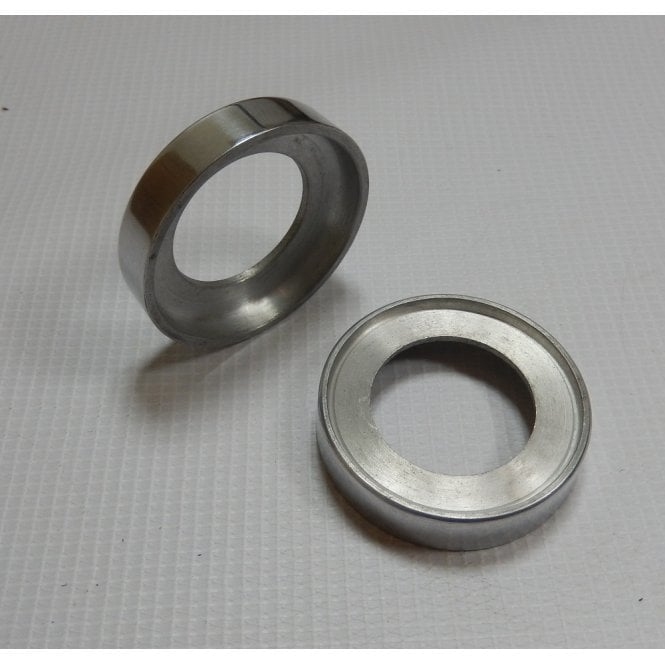 AJS & Matchless AJS/Matchless Headlamp Bracket Housings Polished Alloy (Sold as a Pair) OEM No 02-1912