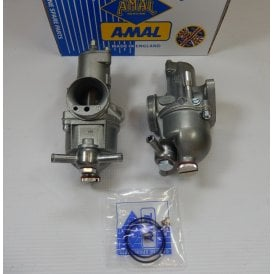 AMAL Premier Standard Twin Carburettor Set for a Triumph T100T & T100R Daytona 1971-72