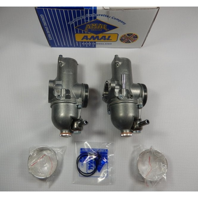 AMAL Triumph T120 Twin Carburettor Set Standard Specification Fits Models 1971-73