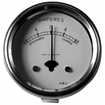 MILLER Ammeter for Classic Motorcycle