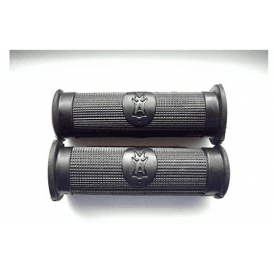 Ariel Black Grips With Logo