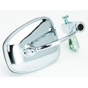"Bar End Mirror Chrome for Classic Motorcycle Fits 7/8"" & 1"" Handebars"