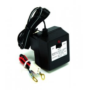 Battery Charger 6v /12v UK 3 Pin Plug Specification With Cables