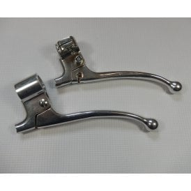 Brake and Clutch Lever Pair of AMAL 534 Forged Alloy Made by Original Supplier