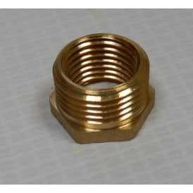 "Brass Fuel Tap Adaptor for Classic Motorcycle 1/4"" to 3/8"" BSP"