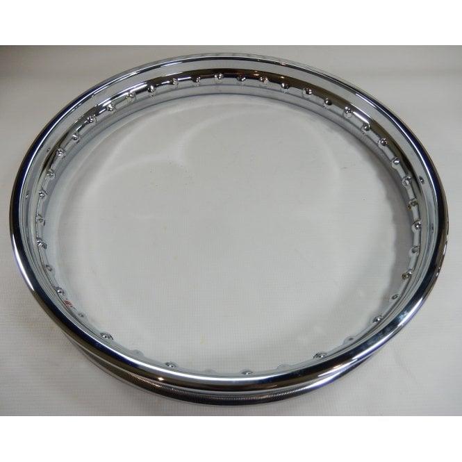 BSA British Chrome Front Wheel Rim Fits Triumph / TR6 / T120, T150, A65 / A75