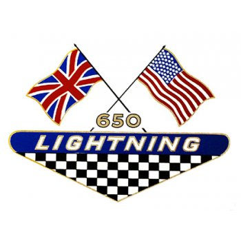 BSA 650cc Lighting Classic Motorcycle Transfer