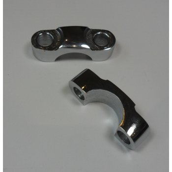 BSA A10, A65, B31, C11 Handlebar Clamps (pair)