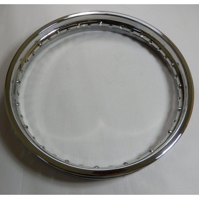 BSA A50, A65 Rear Chrome Rim Genuine Jones Triple Chrome Plated WM3 x 18 x 40
