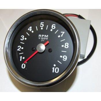 BSA A50 / A65 Tachometer Head Black Face 3- 1 Ratio