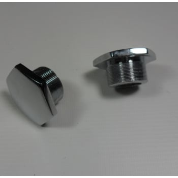 BSA A65, Triumph T120 Fork Nut Chrome Sold As A Pair Made in England