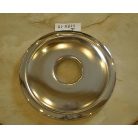"BSA A7, A10 Chrome Front Hub Cover 8"" Fits 7"" Full Width Hub OEM No 37-1334"