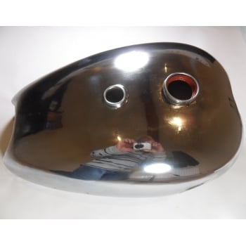 BSA A7/A10 Chrome Fuel Tank For Swinging Arm Models