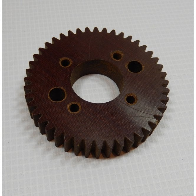 BSA A7 / A10 Fibre Gear Drive Wheel 44T for Ignition Advance & Retard System