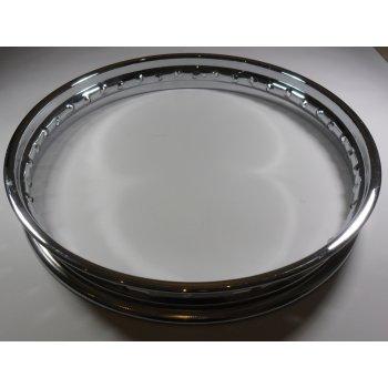 BSA A75 Stainless Steel Rim WM3 x 19