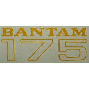 BSA Bantam 175cc Classic Motorcycle Transfer