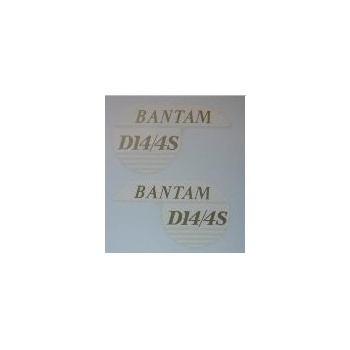 BSA Bantam Classic Motorcycle Transfer