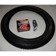 "BSA Bantam, Classic Tyre Tube & Rim Tape Set 300-18"", Heavy Duty Inner Tube"