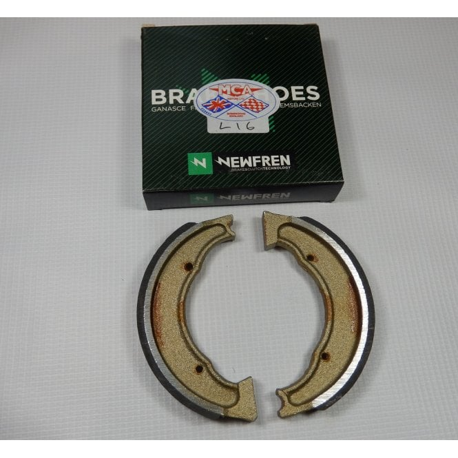 BSA Bantam D1 / D3 Brake Shoes Made in Italy OEM No 90-5520