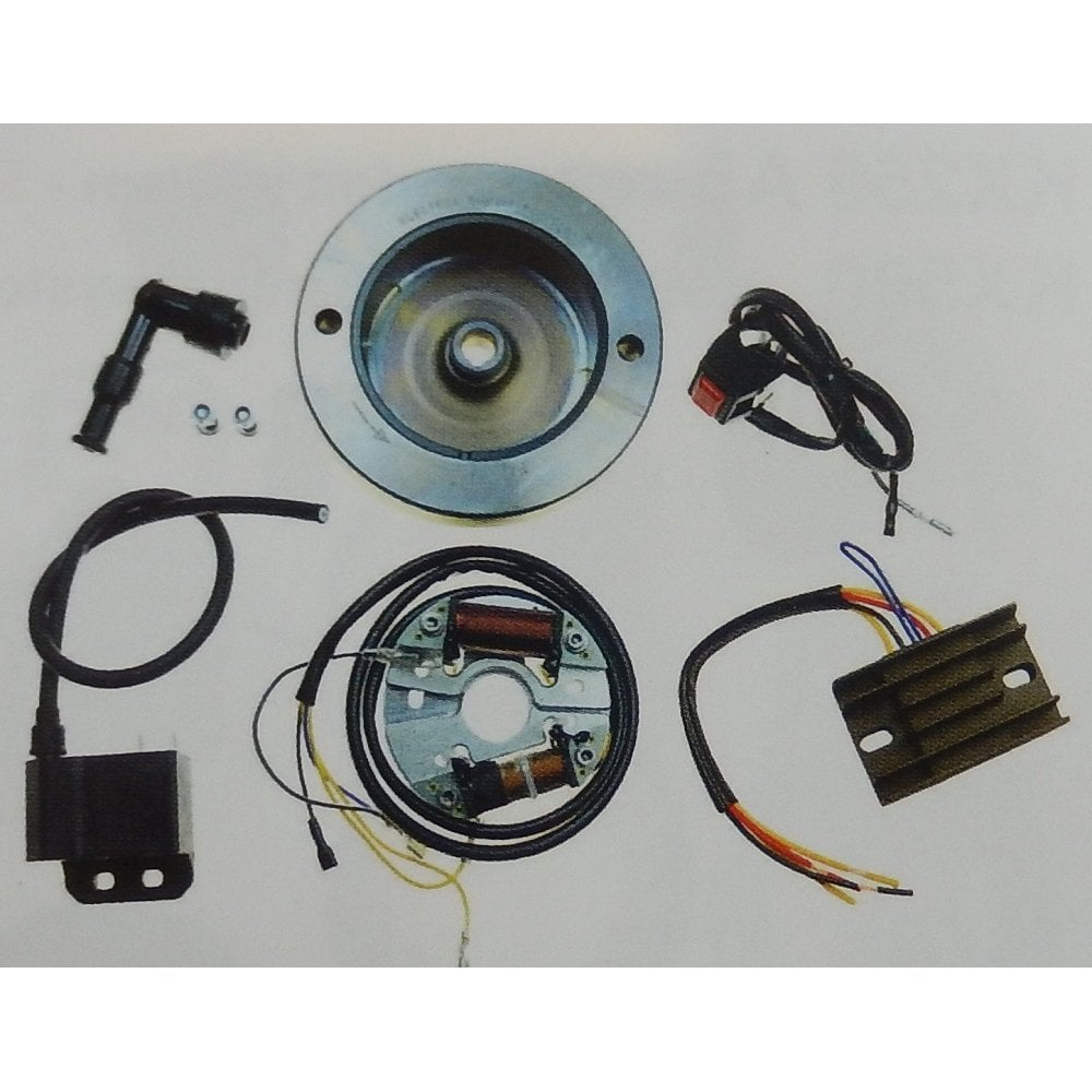 Bsa Bantam D1 D7 Cdi Complete Electronic Ignition Lighting System 6 12v Made In Uk Electrical From Classic Bike Parts Cheshire Uk