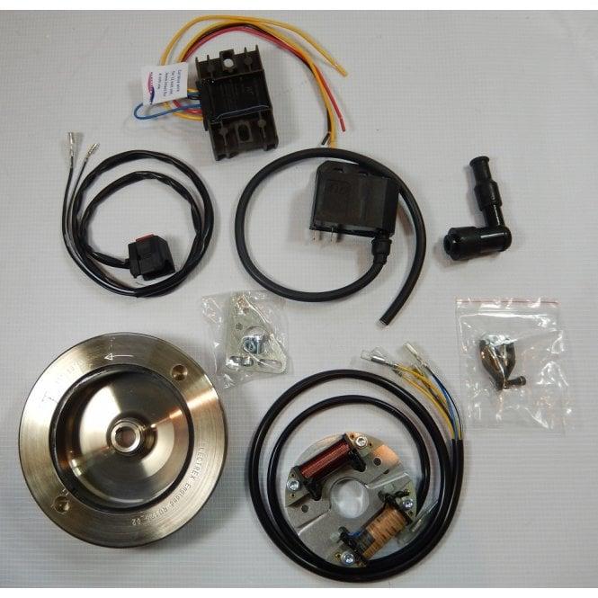 BSA Bantam D1-D7 CDI Complete Electronic Ignition / Lighting System 6/12v Made in UK