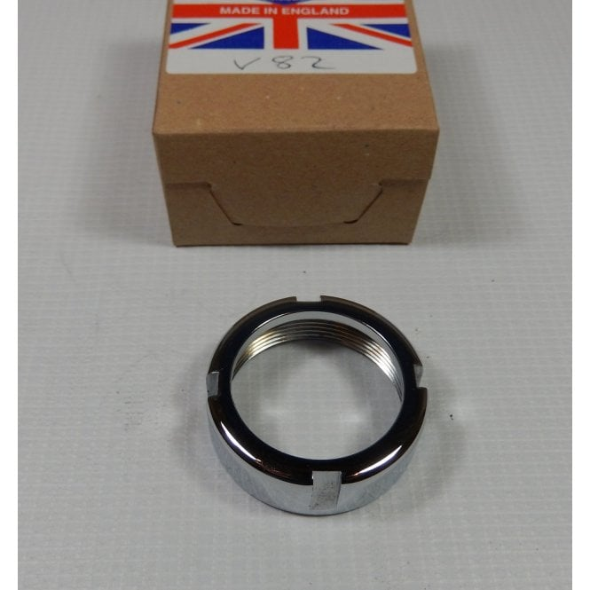 BSA Bantam D1 to D10 Chrome Exhaust Pipe Nut Made in UK OEM No 90-0265