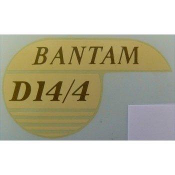 BSA Bantam D14/4 Classic Motorcycle Transfer