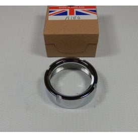 BSA Bantam D14 Chrome Exhaust Pipe Nut Made in UK OEM No 82-8294