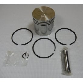 BSA Bantam D5/D7 Piston & Ring Set +40 Oversize Includes Circlips 3 Rings & Pin