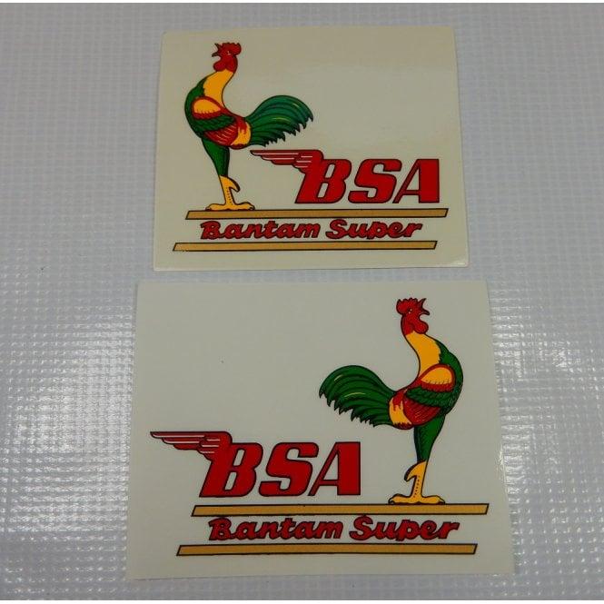 BSA Bantam D7/D10 Decal Set (Pair)