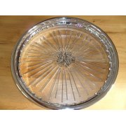 "BSA C15 Wheel Rim 17"" British Chrome Rim"