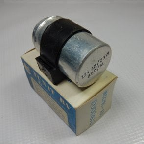 Classic Motorcycle Flasher Relay Unit 12V - 18/23W With Rubber Holder Ex Quality