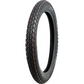 "Classic Style Tubed Tyre 330P x 18"" King Tyre Excellent Quality"