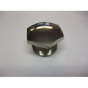 BSA Fork Stanchion Top Nut Polished Stainless Steel For A,B & C Series Models