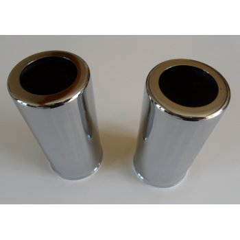 BSA Girling Chrome Shock Obsorber Covers 4