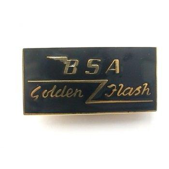 BSA Golden Flash Enamel Pin Badge For Classic Motorcycle