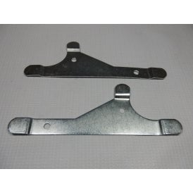 BSA Knee Grip Mounting Plates (Pair) Fit C15, B40, A10 & A65 UK Made