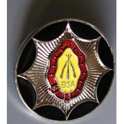 BSA Pin Badge Classic Motorcycle