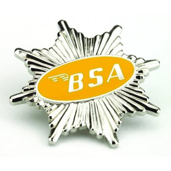 BSA Pin Badge for Classic Motorcycle