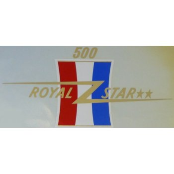 BSA Royal Star 500cc Classic Motorcycle Transfer