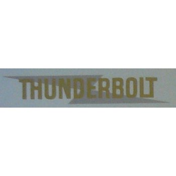 BSA Thunderbolt Classic Motorcycle Transfer Gold & Silver Finish Made in UK