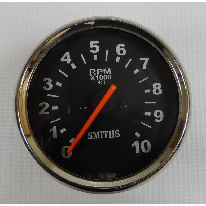 BSA, Triumph, Norton Tachometer 0 -10,000 RPM Set Black Face