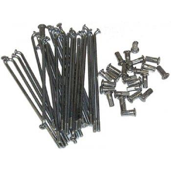 BSA / Triumph Stainless Steel Spoke Set 3TA/T21/T90, T100SS/T100R/T100C T120/6T/TR6 & BSA A75 Models