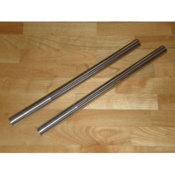 Triumph BSA / TR6 T140V Fork Stanchions Sold As A Pair Hard Chrome Made in UK