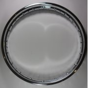 BSA/ Triumph Wheel Rim Polished Stainless Steel Fits T100,T120,T150, BSA A7, A10