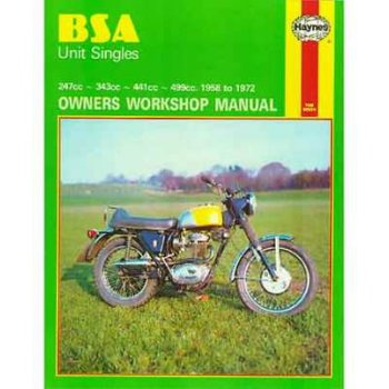 Haynes BSA Unit Singles Manual